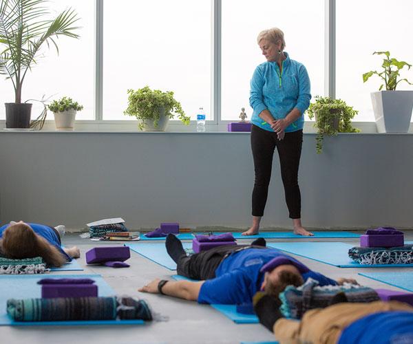 Creighton Dental School yoga