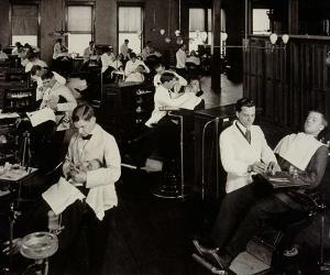 Historical Photo of Creighton Dental School