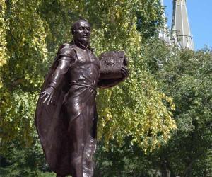 Ignatius statue