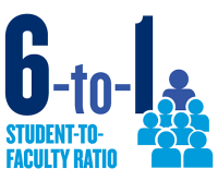 6-to-1 Student-to-Faculty Ratio