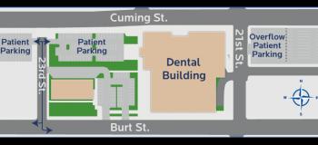 Patient Parking Information Map
